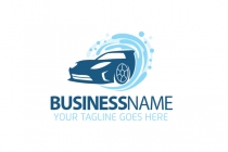 Carwash Business Logo
